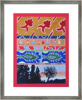 Everything Everywhere #8 Framed Print by Marcia Cary