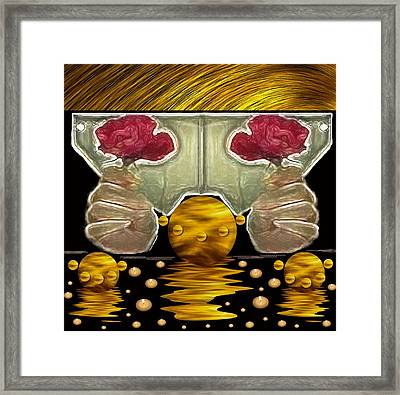 Everything Is In Order In The Universe Pop Art Framed Print by Pepita Selles