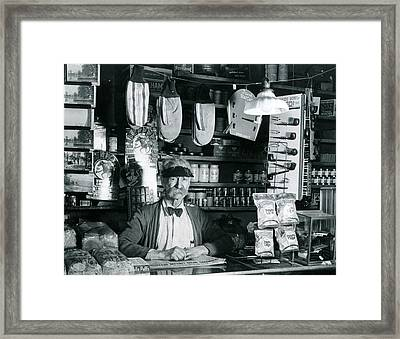 Everything Store Framed Print by Retro Images Archive