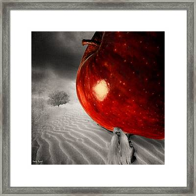 Eve's Burden Framed Print by Lourry Legarde