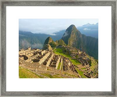 Evidence Of A Culture Past Framed Print by Mountain Dreams
