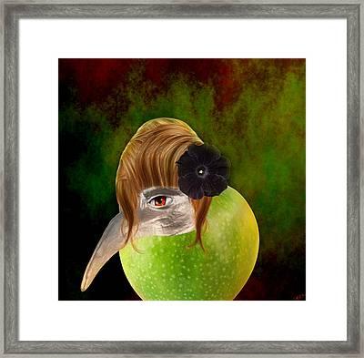 Evolve  Framed Print by Ally  White