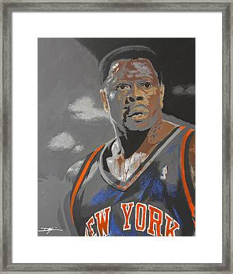 Ewing Framed Print by Don Medina
