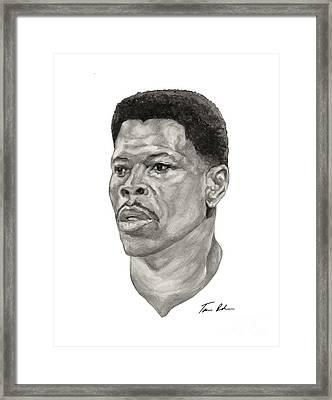 Ewing Framed Print by Tamir Barkan