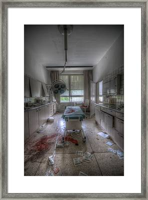 Examination Room 2 Framed Print by Nathan Wright