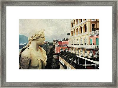Excelsior Vittoria Sorrento Framed Print by Diana Angstadt