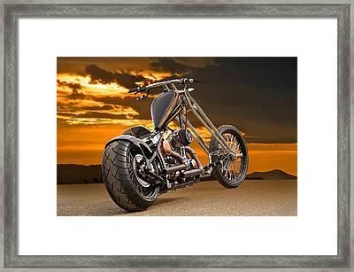 Executive Chopper 2 Framed Print by Dave Koontz