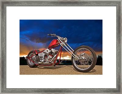 Executive Chopper 8 Framed Print by Dave Koontz