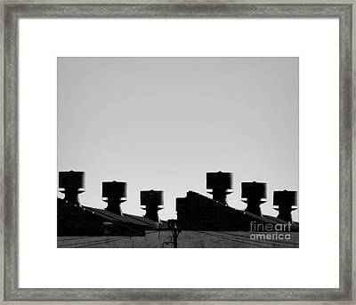 Exhausted Framed Print by James Aiken