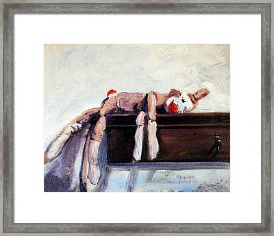 Exhausted Framed Print by Spencer Meagher