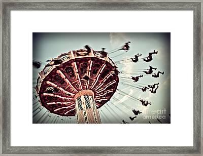 Exhilaration Framed Print by Colleen Kammerer