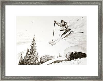 Exhilaration Framed Print by Art By - Ti   Tolpo Bader