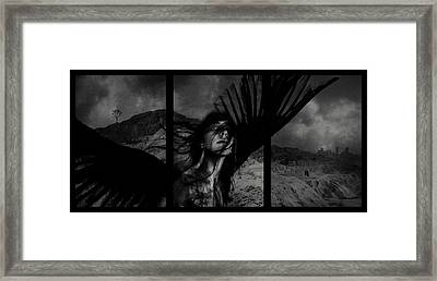 Exile Framed Print by Cambion Art