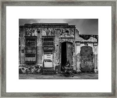 Shopping Cart Framed Print featuring the photograph Existence by Mountain Dreams
