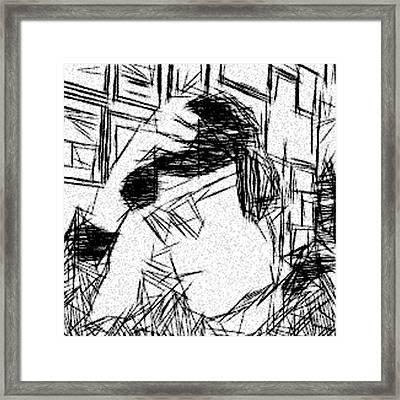 Existential Despair Framed Print by Jonathan Harnisch