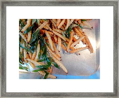 Exotic Appetizer 2 Framed Print by Irina Effa