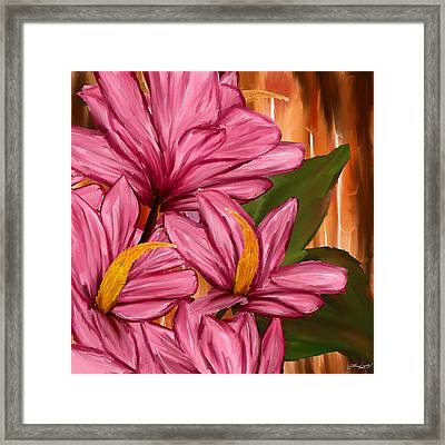 Exotic Thing Framed Print by Lourry Legarde