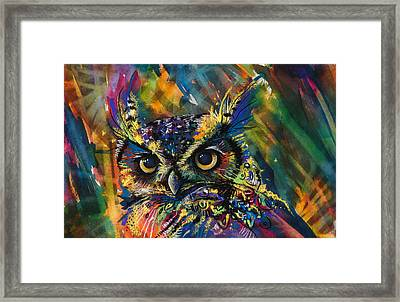 Expanding Consciousness Framed Print by Sharlena Wood