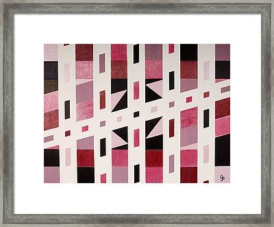 Expanding Directions Framed Print by Gillian Pearce