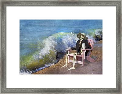 Expect The Unexpected  Framed Print by Betsy C Knapp