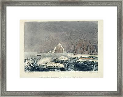 Expedition Doubling Cape Barrow Framed Print by British Library