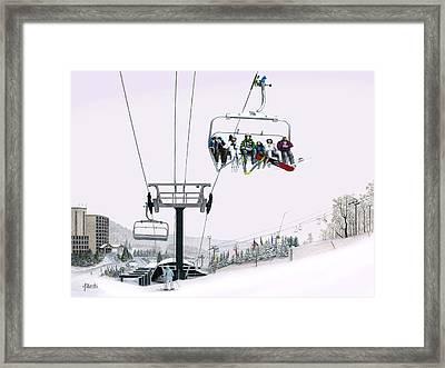 Experience Seven Springs Framed Print by Albert Puskaric