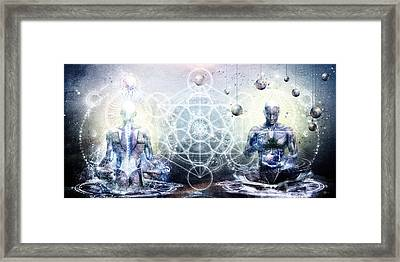Experience So Lucid Discovery So Clear Framed Print by Cameron Gray
