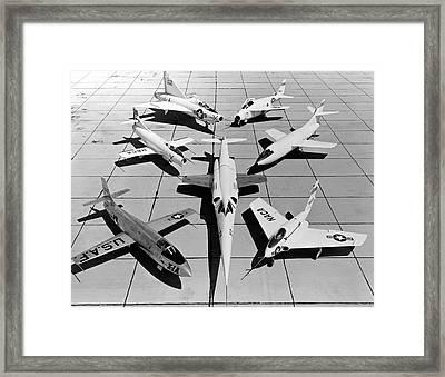 Experimental Aircraft Framed Print by Nasa Photo