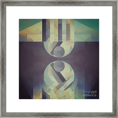 Explained Creation Framed Print by Lonnie Christopher