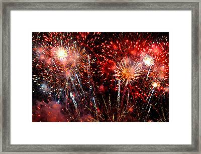 Explode Framed Print by Diana Angstadt