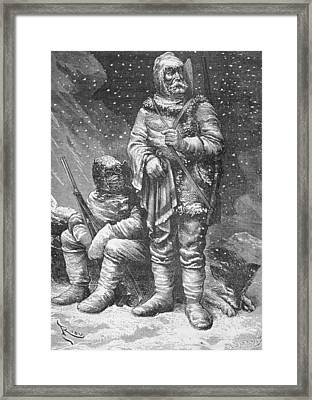 Exploration Costumes Framed Print by Charles Barbant