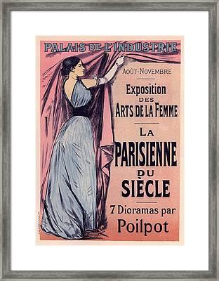 Exposition Des Arts De La Femme Framed Print by Gianfranco Weiss