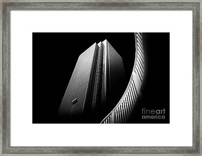 Express Elevator Framed Print by Az Jackson
