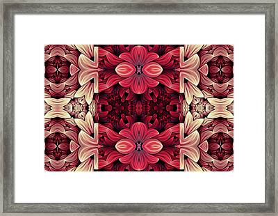 Expressing Passion Framed Print by Georgiana Romanovna