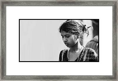 Expression Framed Print by Gajendra Jha