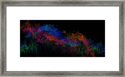 Expressions Of Color Framed Print by Christopher Gaston