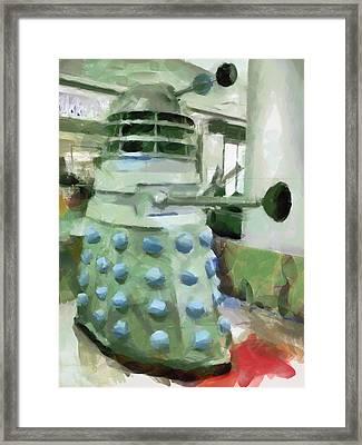 Exterminate Framed Print by Steve Taylor