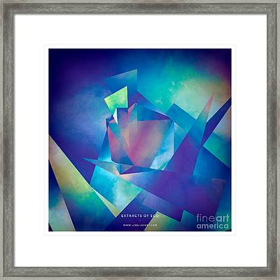 Extracts Of Ego Framed Print by Lonnie Christopher