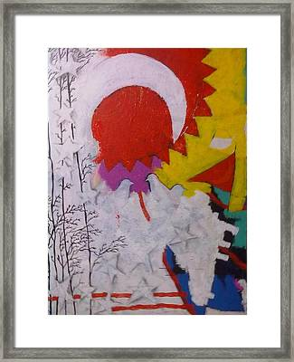 Extraordinary Defacto Framed Print by Sahid Ahmed