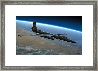 Extreme Altitude Framed Print by Dale Jackson