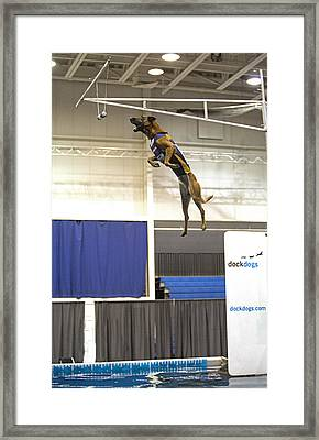 Extreme Vertical 2 Framed Print by Gerald Marella