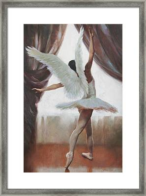 Exultation Framed Print by Anna Rose Bain