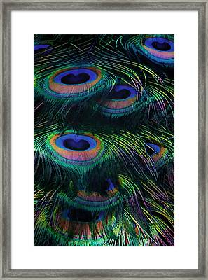 Eye Abstracted Framed Print by Kandy Hurley