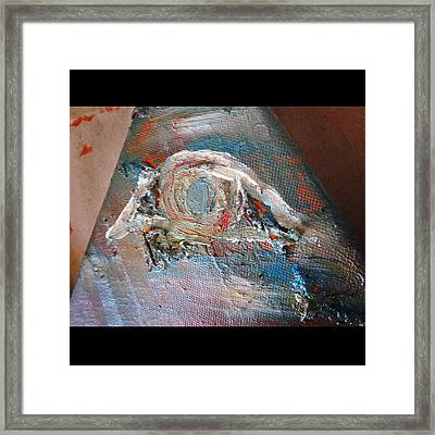 Eye Framed Print by Marianna Mills