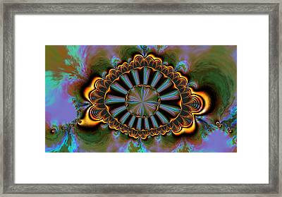 Eye Of Centauris Framed Print by Claude McCoy