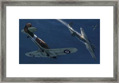 Eye Of The Hurricane Framed Print by Hangar B Productions