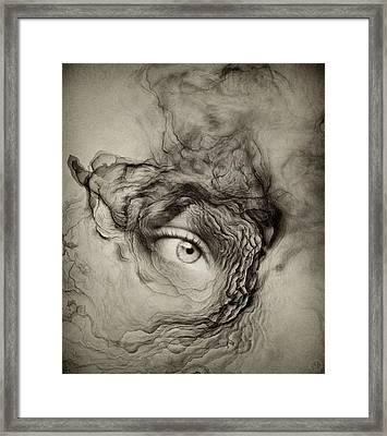 Eye Of The I Framed Print by Gun Legler