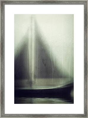 Eye Of The Storm Framed Print by Amy Weiss