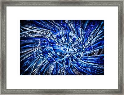 Eye Of The Storm Framed Print by Omaste Witkowski