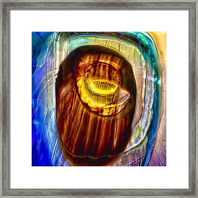 Eye Of Zeus Framed Print by Omaste Witkowski